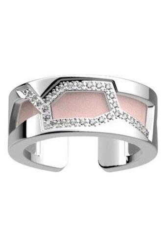 Les Georgettes Ring-Set »GIRAFFE SILBER-ZIRKONIA, 8 mm, hellgrau-rosa, GIRS8SZ-MP,... kaufen
