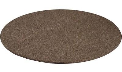Teppich, »Buffalo«, Living Line, rund, Höhe 15 mm, maschinell getuftet kaufen