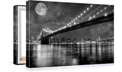 Conni Oberkircher´s Bild »Big City 6  -  Full Moon« kaufen