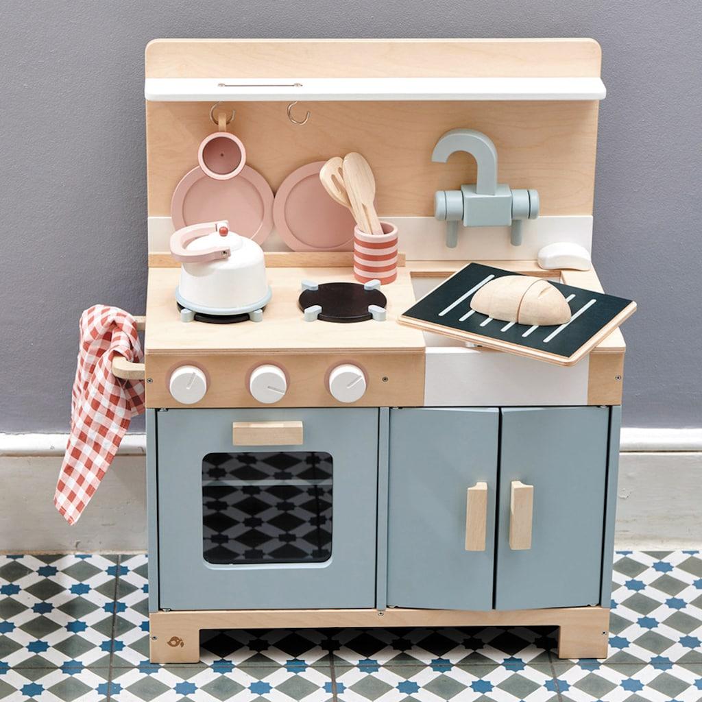Tender Leaf Toys Spielküche »Kinderküche grau«, aus Holz