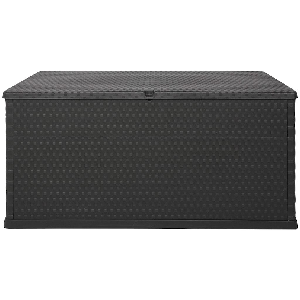 ONDIS24 Kissenbox »Rattan«, 420 Liter, Kunststoff