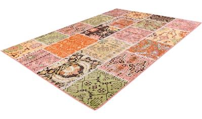 calo-deluxe Teppich »Ruzica-404«, rechteckig, 6 mm Höhe, Flachgewebe, Vintage Design,... kaufen