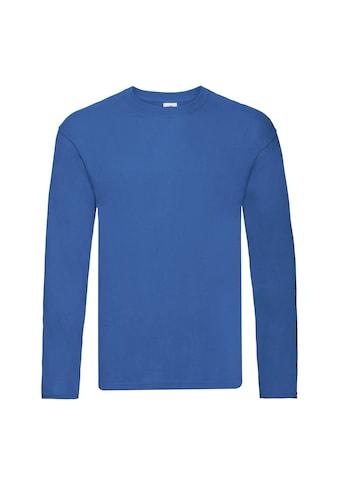 Fruit of the Loom T-Shirt »Herren Original, langärmlig« kaufen