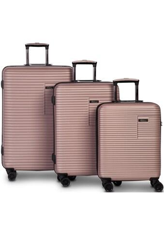 fabrizio® Trolleyset »Breeze, rosa«, (3 tlg.) kaufen