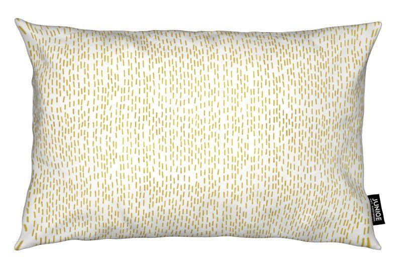 Dekokissen Gold Stripes Juniqe