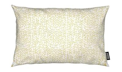 Juniqe Dekokissen »Gold Stripes«, Weiches, allergikerfreundliches Material kaufen