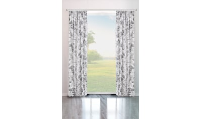 Vorhang, »MONSTERA«, my home, Kräuselband 1 Stück kaufen