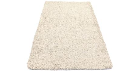 morgenland Wollteppich »Shaggy Teppich handgewebt beige«, rechteckig, 40 mm Höhe kaufen