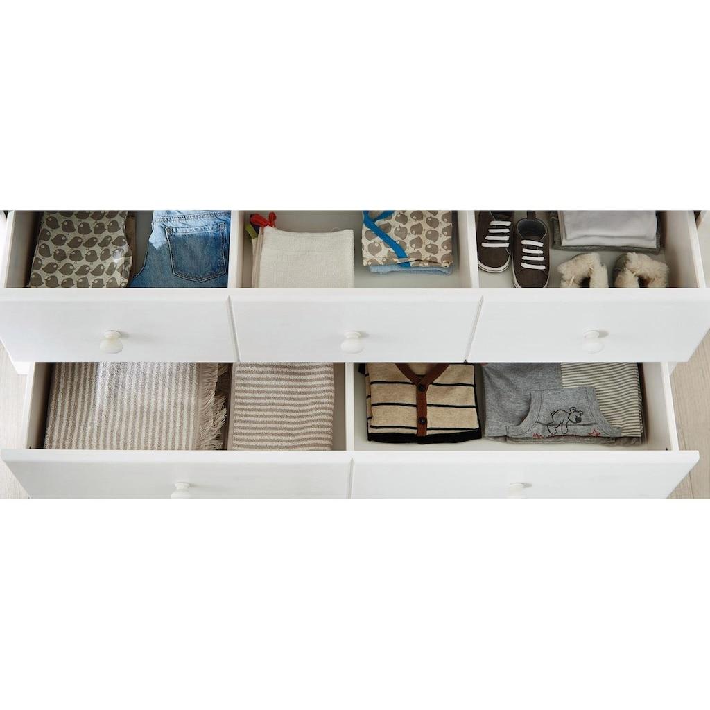 Pinolino® Babyzimmer-Komplettset »Pino«, (Set, 3 St.), extrabreit groß mit 3 Türen; Made in Europe