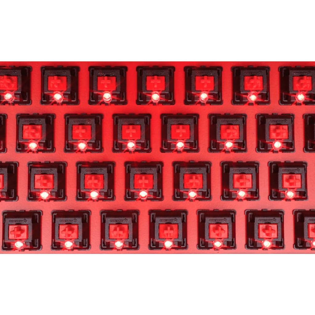 Corsair Gaming-Tastatur »STRAFE«, (Ziffernblock-USB-Durchschleife)