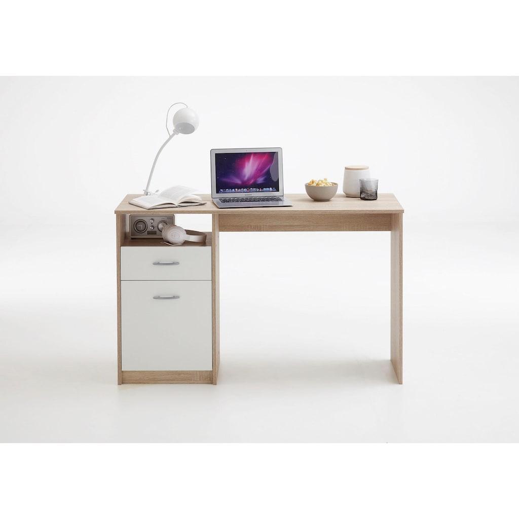 FMD Schreibtisch »Jackson«, mit 1 Schubkasten und 1 Tür