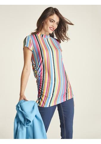 Shirt mit Raffungen kaufen