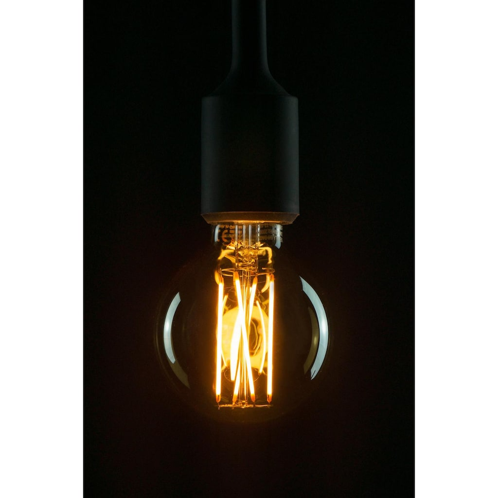 SEGULA LED-Filament »DESIGN LINE«, E27, 1 St., Extra-Warmweiß, LED Globe Filament
