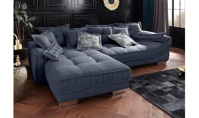 Leonique Ecksofa »Diwan Luxus«, mit besonders hochwertiger Polsterung für bis zu 140... kaufen
