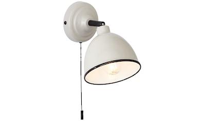 Brilliant Leuchten Telio Wandleuchte Zugschalter grau/taupe kaufen