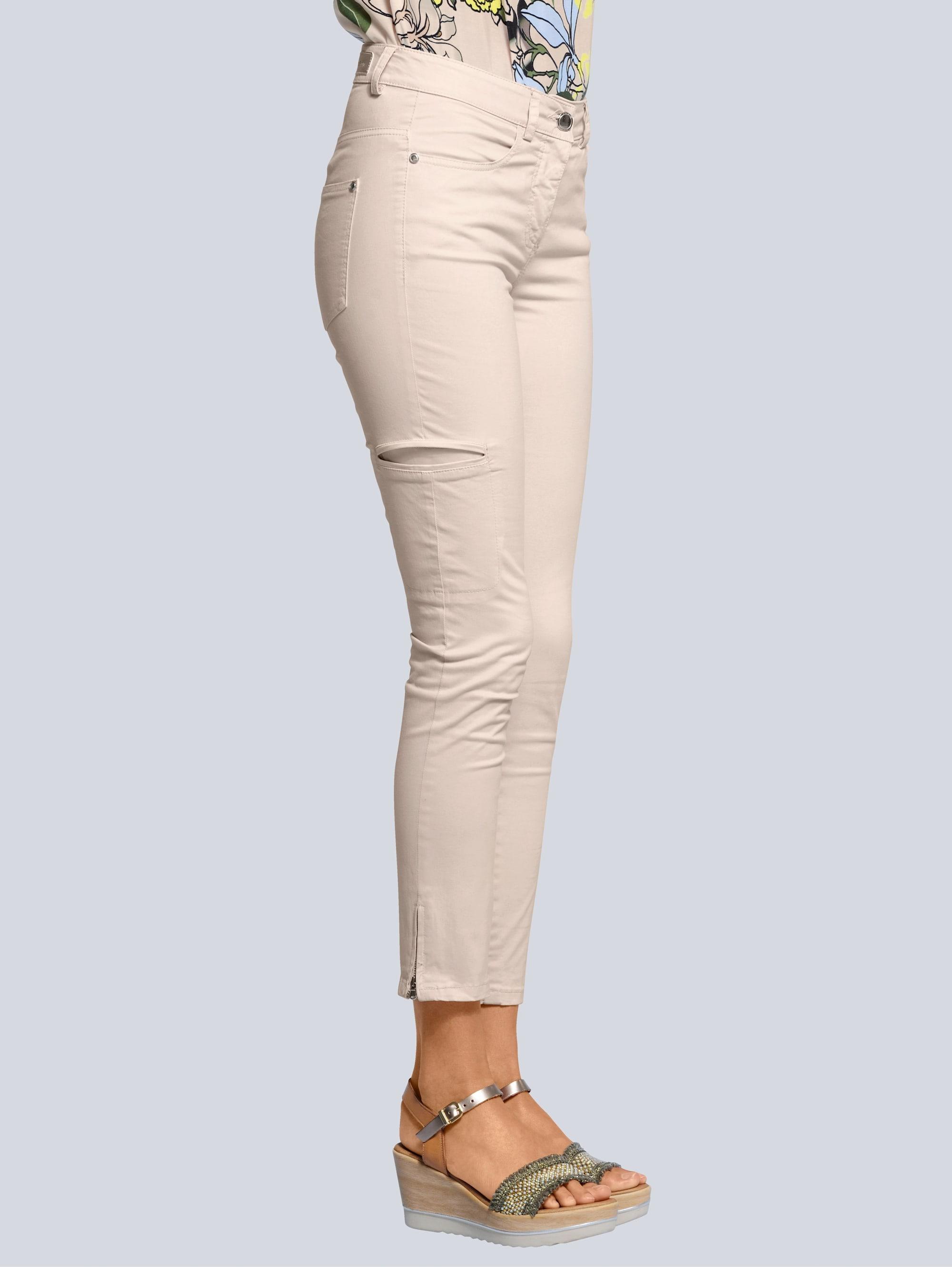alba moda -  7/8-Hose, mit seitlichen Taschen