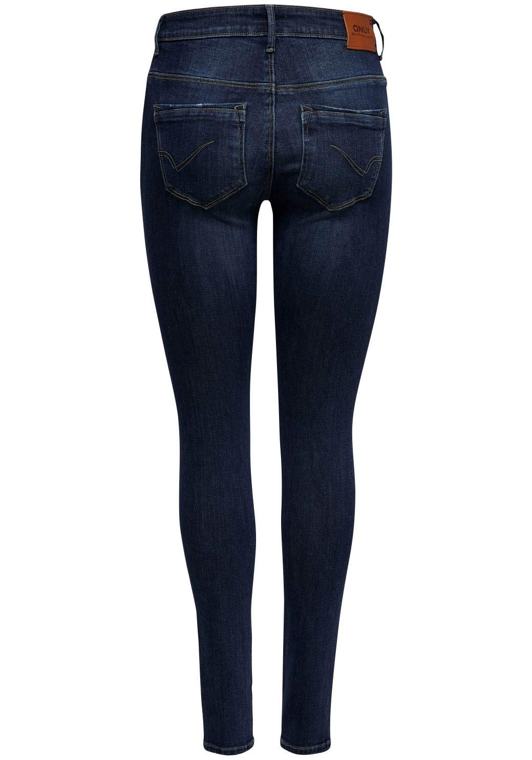 Only High-waist-Jeans PAOLA | Bekleidung > Jeans > High Waist Jeans | Blau | Only
