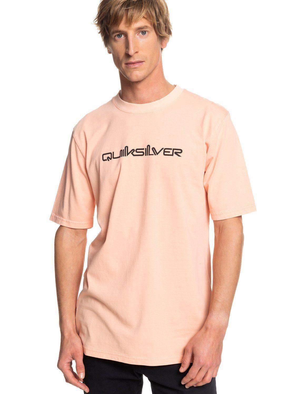 Quiksilver T-Shirt Originals Quik Collage | Bekleidung > Shirts > T-Shirts | Rosa | Jersey | Quiksilver