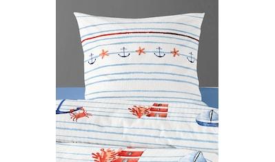 BIERBAUM Bettwäsche »Sea Breeze«, mit Anker kaufen