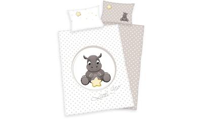 Babybettwäsche »Jana Nashorn«, Herding kaufen