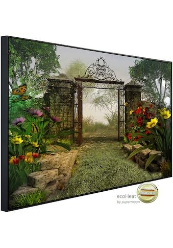 Papermoon Infrarotheizung »Magisches Gartentor«, sehr angenehme Strahlungswärme kaufen