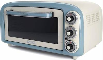 Ariete, Minibackofen »Vintage 979 blau«, Oberhitze Unterhitze kaufen