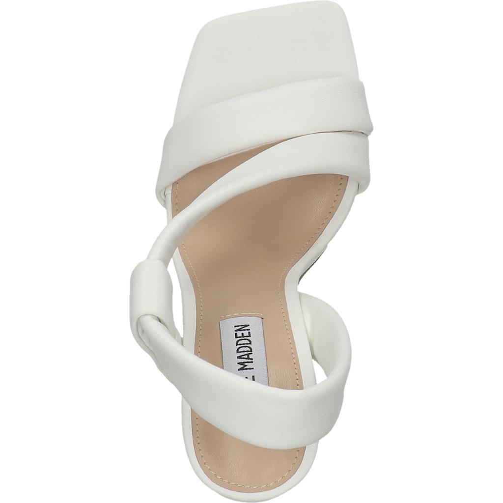 STEVE MADDEN High-Heel-Sandalette »Lederimitat«