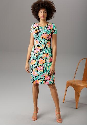 Aniston SELECTED Sommerkleid, im farbenfrohen Allover-Print - NEUE KOLLEKTION kaufen
