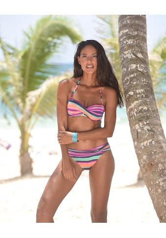 LASCANA Bandeau - Bikini - Top »Rainbow« kaufen