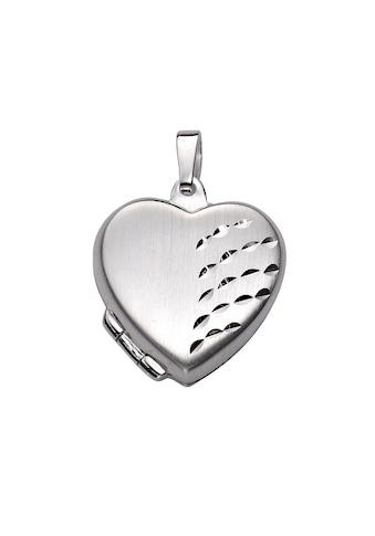 Zeeme Kettenanhänger »925/- Sterling Silber Herz Medaillon«, Anhänger kaufen