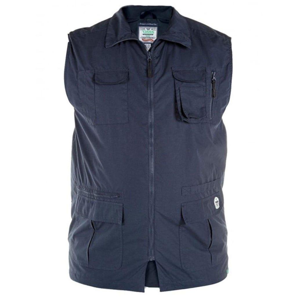 Duke Clothing Funktionsweste »Herren Multi Enzo mit Taschen, Kingsize«