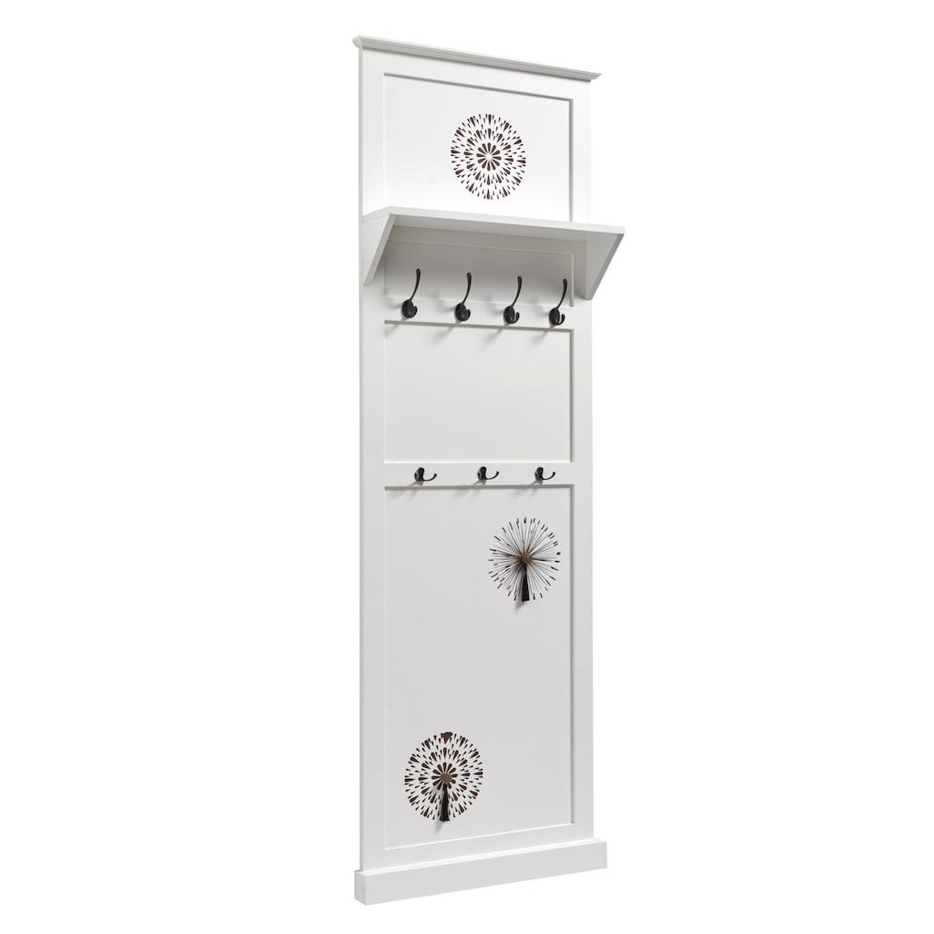 Garderobenpaneel mit dekorativ bedruckter Front