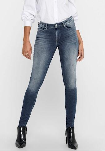 Only Skinny-fit-Jeans »ONLSHAPE LIFE«, mit minimalem Destroyed Effekt kaufen