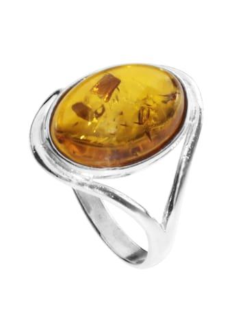 OSTSEE - SCHMUCK Fingerring » -  Agnes  -  Silber 925/000  -  Bernstein« kaufen