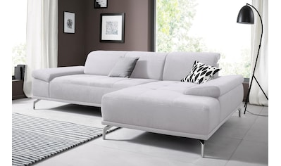 Places of Style Ecksofa »Caluna«, mit Sitztiefen- und Kopfteilverstellung kaufen