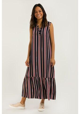 Finn Flare Jerseykleid, mit tollem Streifendesign kaufen