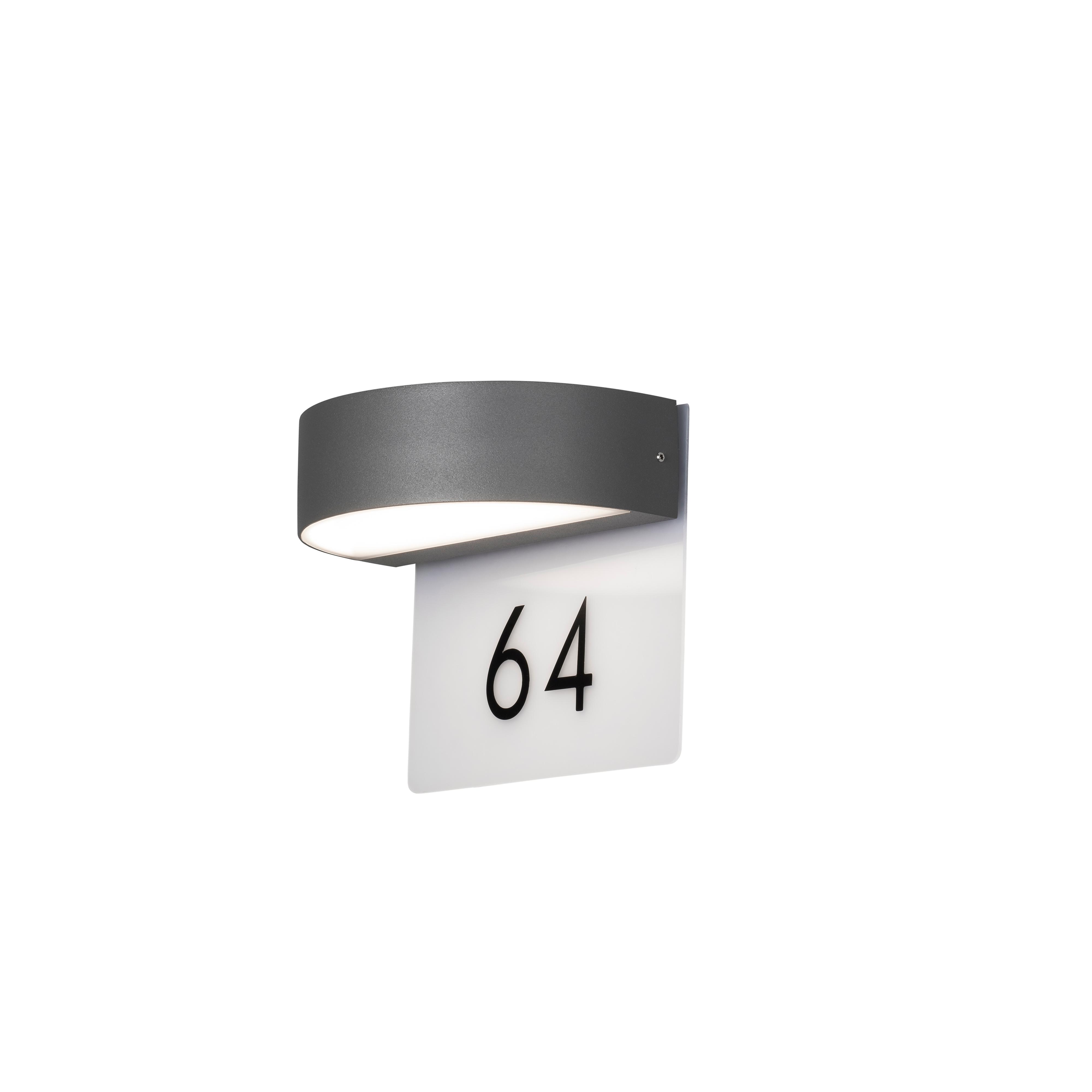 KONSTSMIDE Hausnummern- Wandleuchte