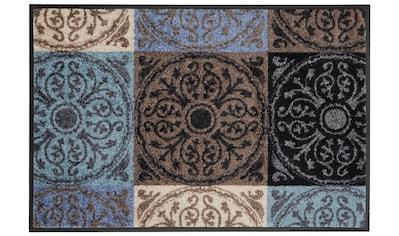 wash+dry by Kleen-Tex Fußmatte »Da Capo«, rechteckig, 7 mm Höhe, Schmutzfangmatte, In-... kaufen