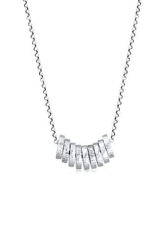 Kuzzoi Silberkette »Herren Disc Beads Element 925 Silber« kaufen