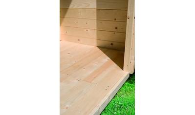 KARIBU Fußboden für Gartenhäuser für Sockelmaß 370x280 cm kaufen
