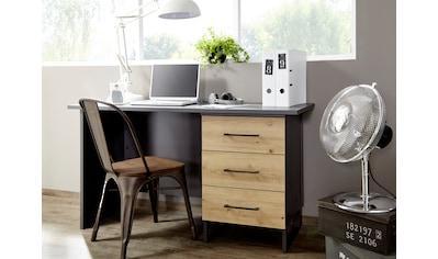 rauch ORANGE Schreibtisch »Holmes«, im Industrial Style mit 3 Schubkästen kaufen