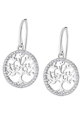 LOTUS SILVER Paar Ohrhänger »Lebensbaum/Baum des Lebens, Hidra, LP1746 - 4/1« kaufen