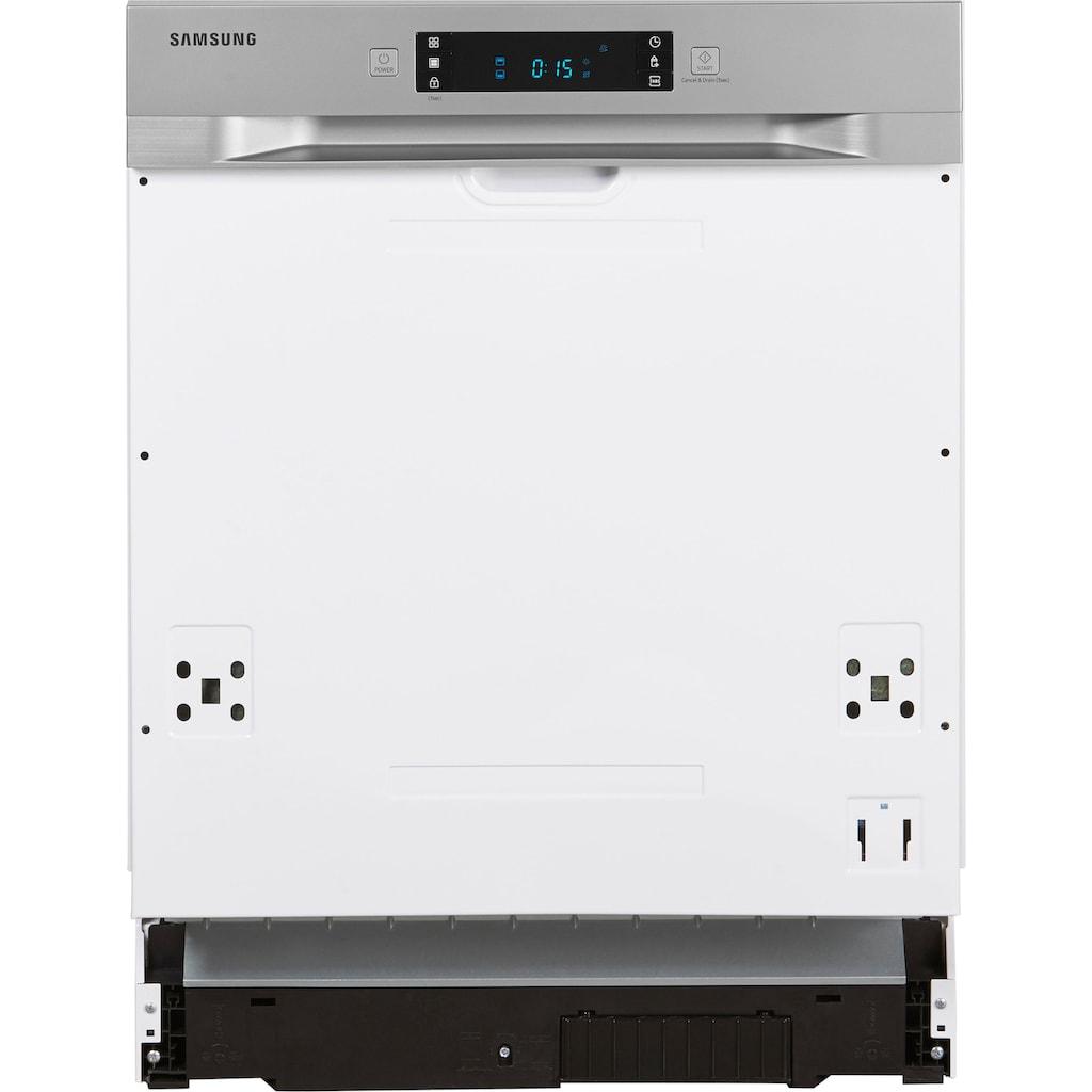 Samsung teilintegrierbarer Geschirrspüler »DW60M6040SS«, DW60M6040SS, 13 Maßgedecke, Luftschallemission nur 44 dB(A)