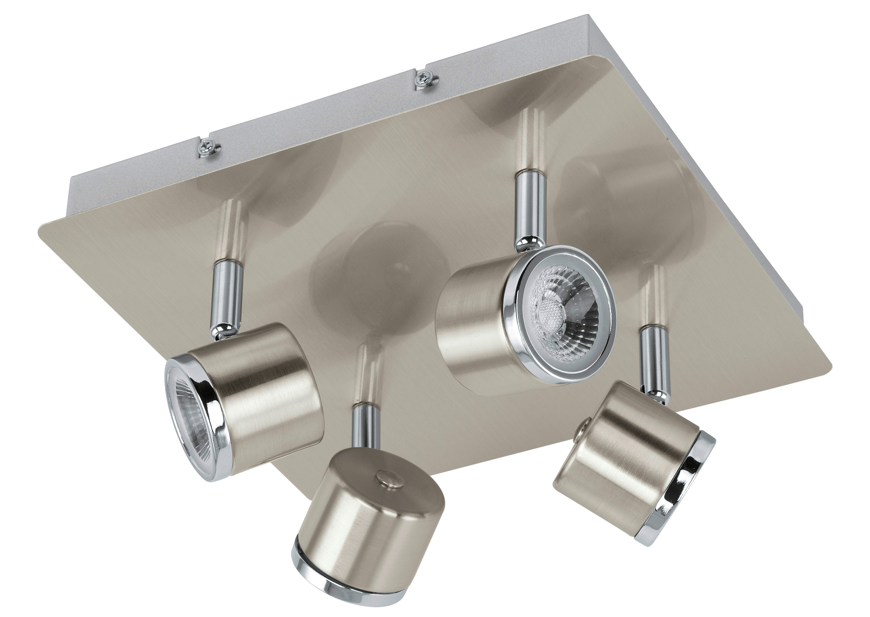 EGLO LED Deckenleuchte PIERINO, LED-Board, Warmweiß, LED tauschbar