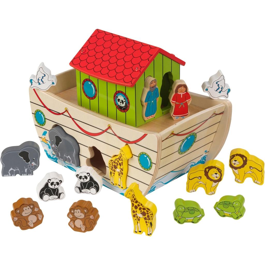 KidKraft® Steckspielzeug »Sortier-Arche Noah«