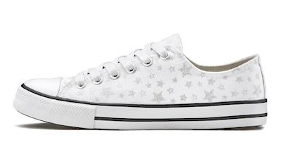 LASCANA Sneaker, aus Textil mit Sternenprint kaufen