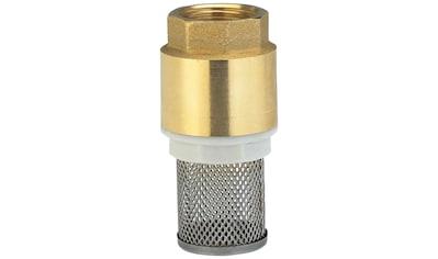 GARDENA Rückschlagventil »07221-20«, Fußventil Messing, 33,3 mm (G 1)-Gewinde kaufen