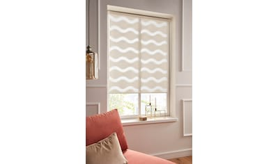 Guido Maria Kretschmer Home&Living Doppelrollo »Wellen«, Lichtschutz, ohne Bohren,... kaufen