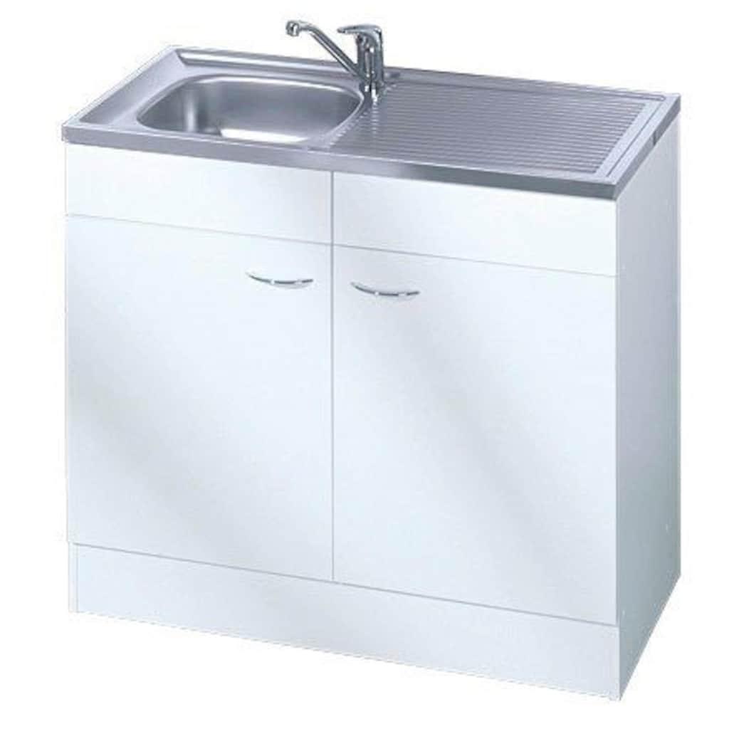 HELD MÖBEL Spülenschrank »Elster«, Breite 80 cm