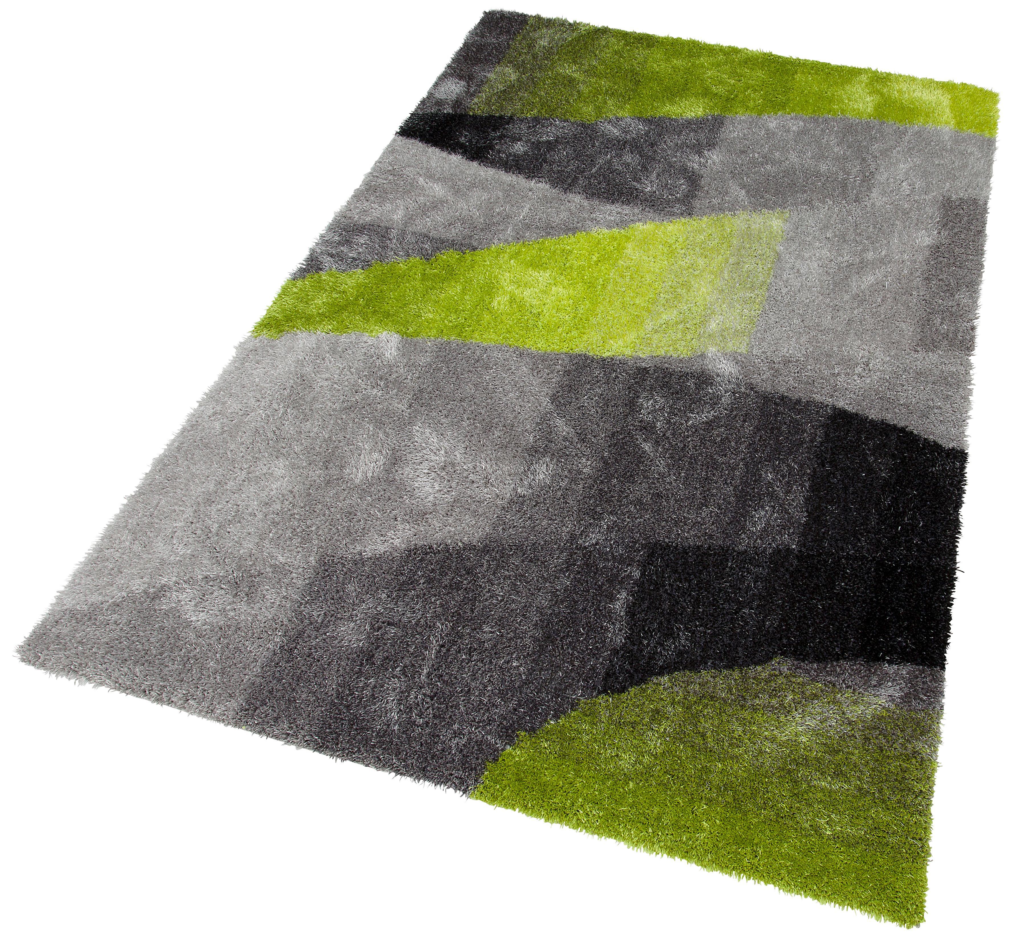 Hochflor-Teppich Adela my home rechteckig Höhe 30 mm handgetuftet